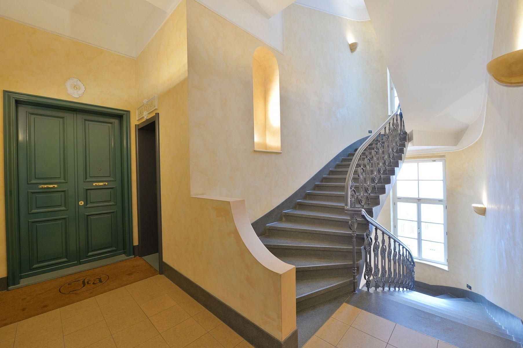 Residence Jecna Stairs